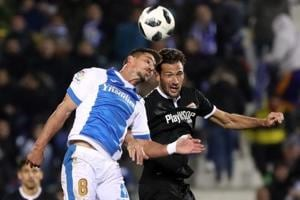 Leganes salvage Copa del Rey draw with Sevilla goalkeeper's mistake