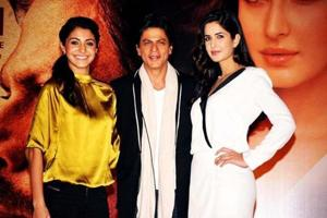 Jab Tak Hai Khan: Katrina Kaif joins Shah Rukh Khan, Anushka Sharma on...