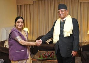 Will work closely with India, Nepali leaders assure Sushma Swaraj