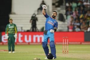 Virat Kohli's 33rd century gives India six-wicket win over South...