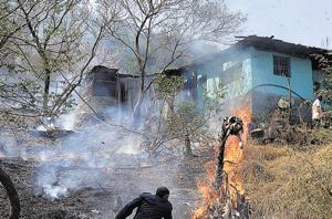 Another fire breaks out at Kharghar hills near Mumbai, second blaze in...