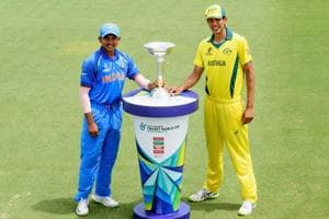 Australia and India play in the final of the ICC U-19 Cricket World...