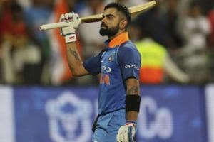 Virat Kohli equals Sourav Ganguly's record of most ODI tons as India...