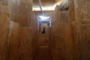 4,400-year-old tomb, likely of high-ranking female official,...