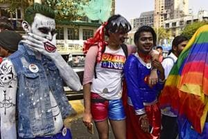 Photos: Sec 377 Quit India says LGBT community as Mumbai marches with...