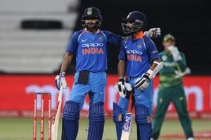 Ajinkya Rahane stepped up his game at No. 4 as he and Virat Kohli guided India to win against South Africa in the first ODIin Durban.