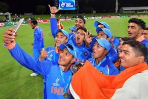 Dejected after an eight-wicket thrashing by India in the final of the...
