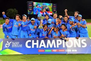 Manjot Kalra's century gave India an eight-wicket win over Australia and helped them secure the ICC U-19 cricket World Cup for a record fourth time. Get highlights of ICC Under-19 Cricket World Cup final between India and Australia here.