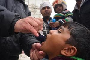 Even after eradication, polio drops given at Nepal border