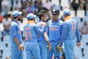 Yuzvendra Chahal, Kuldeep Yadav restrict SouthAfrica to 118 in...