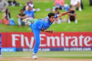 Sourav Ganguly reserved special praise for Kamlesh Nagarkoti (in picture), Shivam Mavi and Ishan Porel, India's pace bowling trio at the ICC Under-19 Cricket World Cup.
