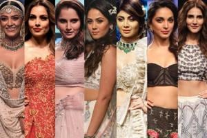 Check out the most glorious lehenga's seen on celebrities from the Lakme Fashion Week Summer/Resort 2018 runways