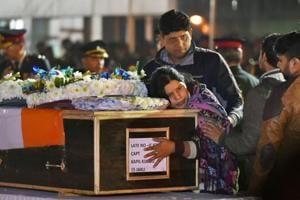 Captain Kapil Kundu cremated with full military honours in his Pataudi...