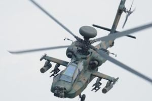 Japan military helicopter crashes in residential area; no casualties
