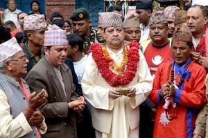 Nepal's former king on 'Wow Cow Mission' to save Indian cows