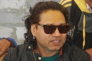 Singer Kailash Kher submitted his work to DIPR director general Pankaj Pande.