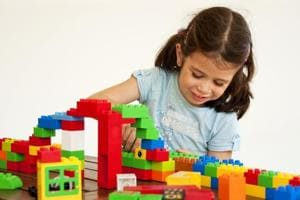 Let them play: Lego and some video games may help boost your child's...