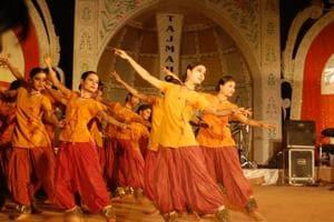 File photo of Taj mahotsav.