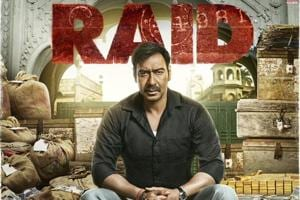 Raid first look: Ajay Devgn sits in the midst of pile of loot,...