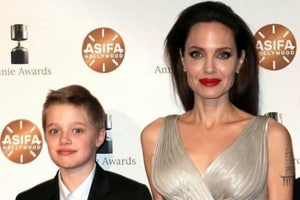 Angelina Jolie's daughter, Shiloh, wants to be a boy, is the spitting...