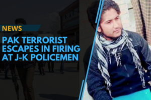 Two policemen were killed on February 6 after militants attacked a...