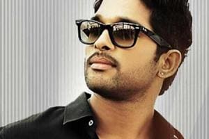 Braving extreme weather conditions, Allu Arjun shoots for Naa Peru...
