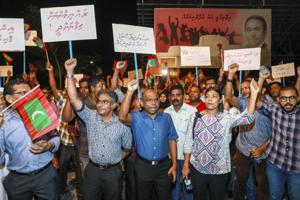 'Disturbed' by Maldives crisis, India weighs options as ex prez...