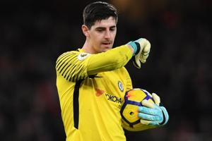 Thibaut Courtois backs Chelsea manager Antonio Conte after Watford...