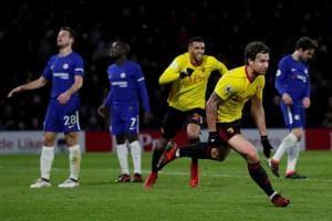 Watford crush 10-man Chelsea 4-1 to pile pressure on Antonio Conte