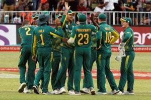 A depleted South Africa have not been able to compete against India in...