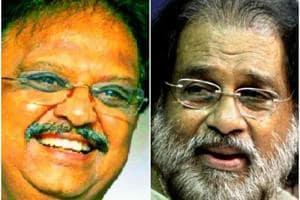 Legendary singers KJ Yesudas, SP Balasubrahmanyam sing together after...