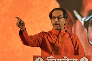 Critics have slammed the Shiv Sena for its alleged hypocrisy in continuing in the government while giving notice that it will go it alone at the next polls.