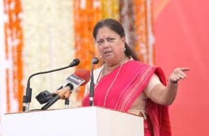 Vasundhara Raje govt waives loans up to Rs 50,000 for small, marginal...