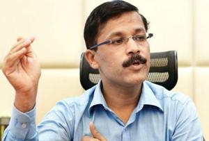 IAS officer Tukaram Mundhe. His fresh transfer comes just 11 months after he was shifted from the post of Navi Mumbai municipal commissioner.