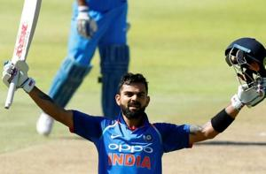 Virat Kohli breaks Sourav Ganguly's ton record in 3rd ODI vs South...