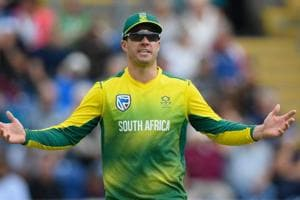 AB de Villiers added to South Africa's ODI squad for remaining games...