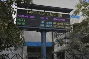 The officials plan to install the LED display units in Mohan Nagar, near  Vaishali Metro station, at old bus stand, the district headquarters and in Raj Nagar Extension.