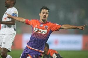 Last year's Golden Boot winner, Marcelinho, proved to be FC Pune...