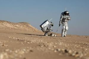Photos: In Oman's Dhofar desert, European team simulates Mars on...