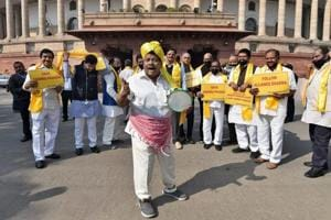 Uproar in both Houses of Parliament over special status to Andhra...