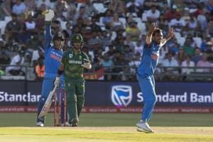 India thrashed South Africa by 124 runs in the third ODI in Cape Town...