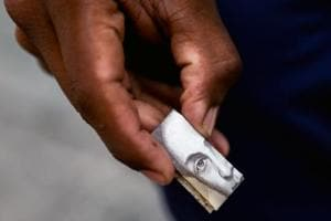 Moneybags: Worthless currency becomes art in struggling Venezuela