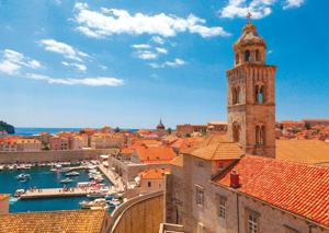 One of the filming locations of Game of Thrones in Dubrovnik, Croatia