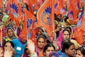 The Bharatiya Mazdoor Sangh, an offshoot of the RSS, has been at loggerheads with the government over economic policies, which it alleges are not labour friendly.