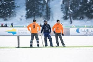 The Ice Cricket Challenge may not exactly be what cricket really needs...