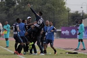 Minerva Punjab FC sit at the top of the I-League standings with five games left in the season.
