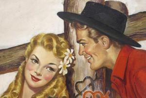 Celebrating Gloria Stoll Karn, a pulp fiction artist who broke gender...