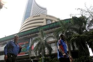 Sensex falls 550 points, Nifty near 10,400 in opening trade