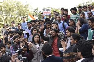 Photos: Two years since JNU sedition case, campus still fumes over...