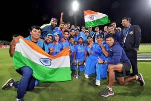 Coach Rahul Dravid guided Indian cricket team to title at the ICCU-19 cricket World Cup.